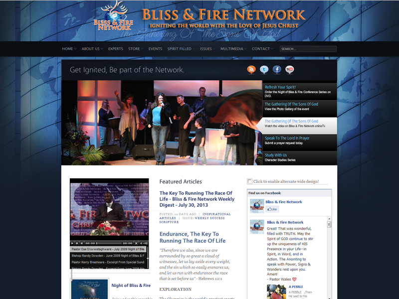Bliss & Fire Network, Inc.