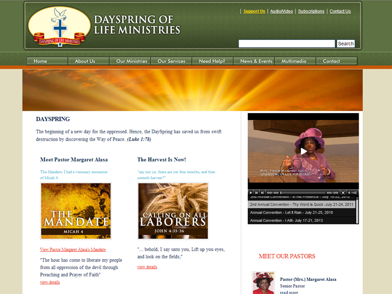 Dayspring of Life Ministries