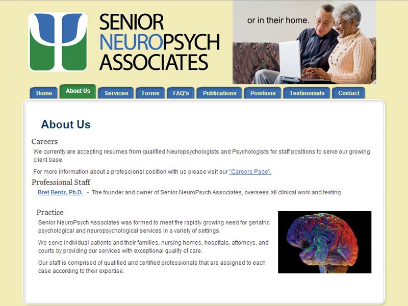 Senior NeuroPsych Associates